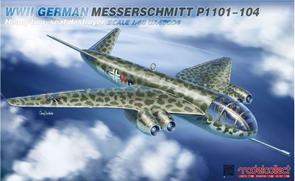 Picture of WWII German Messerschmitt P1101-104 Heavy two-seat destroyer